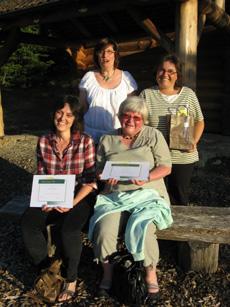 Nos lauréates 2012 pour la formation continue